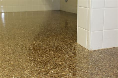 flooring trend epoxy flooring with flakes florock