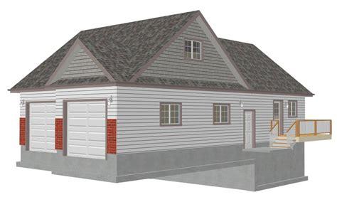 Detached Garage Plans With Loft by Garage Plans With Loft Apartment Detached Garage Plans