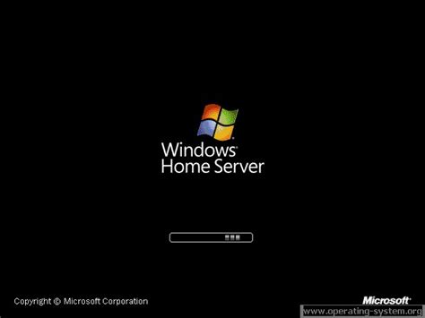 operating system screenshot microsoft server windows home