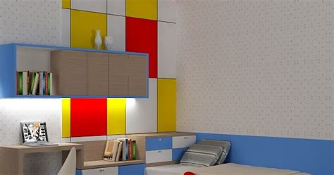 desain interior meja belajar kitchenset pelangi desain interior meja belajar simpel