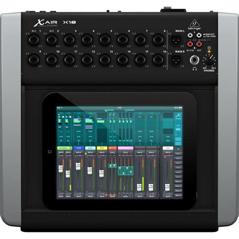 Mixer Behringer X Air behringer x18 x air digital tablet mixer b stock at