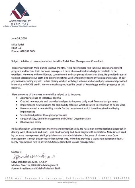 bunch ideas of letter of recommendation for medical school from