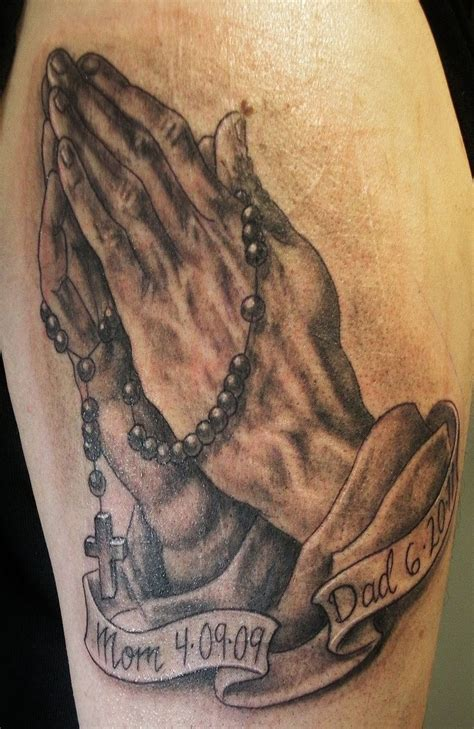 two hands tattoo best 25 praying ideas on
