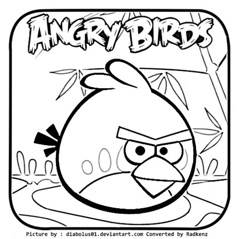 angry birds seasons coloring pages
