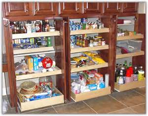 Kitchen In A Cabinet Pantry Organizers Home Design Ideas