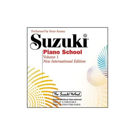 How Many Suzuki Piano Books Are There Books Cds Suzuki Piano School New