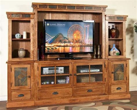 design home entertainment center sunny designs sedona entertainment wall su 3439ro