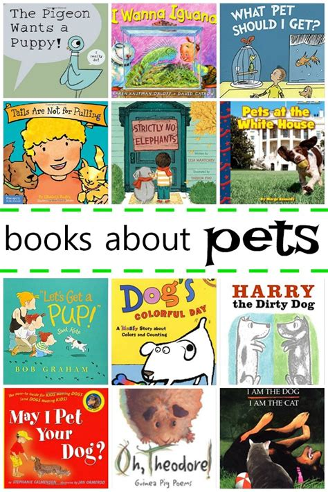 picture books about books about pets for fantastic learning