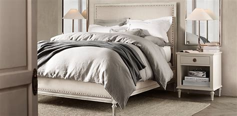restoration hardware bedroom furniture 6 finishes