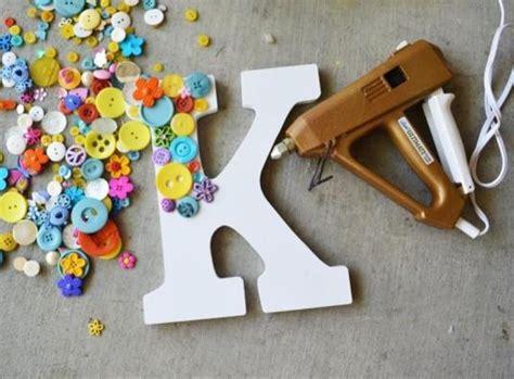 como decorar letras de madera de unicornio manualidades con letras