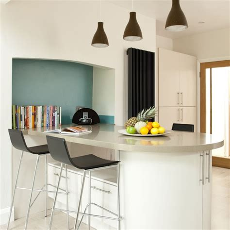 kitchen breakfast bar design ideas modern kitchen breakfast bar modern kitchens housetohome co uk