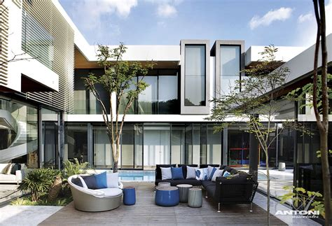 modern mansions modern mansion with perfect interiors by saota