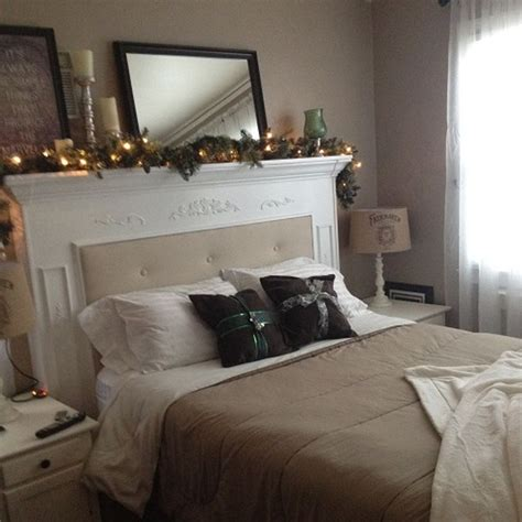 Fireplace Headboard by Diy Fireplace Mantel Headboard