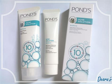 Pelembab Pond S Acne Solution you re beautiful review pond s acne solution pond s