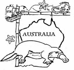 Australia Day Coloring Pages australia day coloring pages for family net