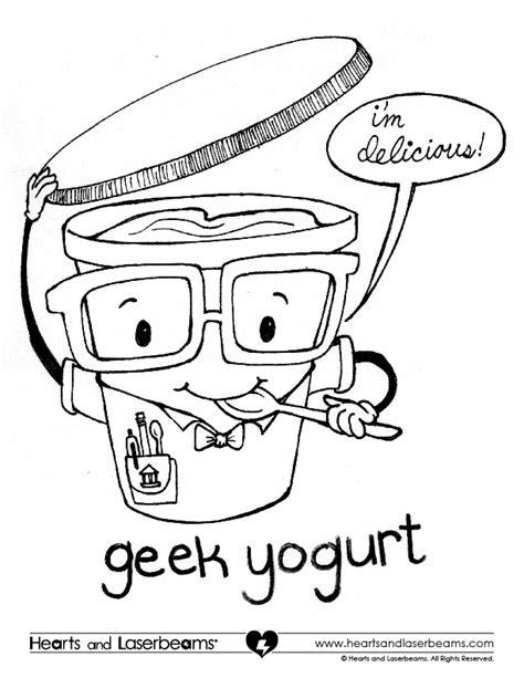 coloring page of yogurt yogurt coloring page coloring page yogurt free pages of