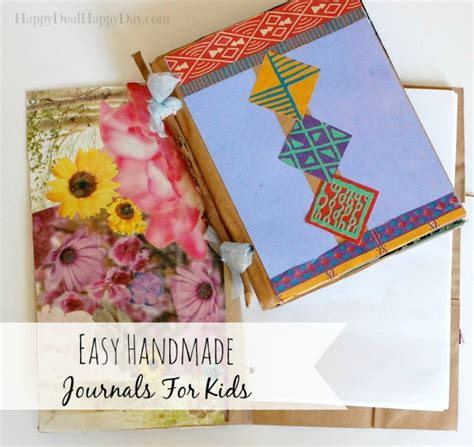 Handmade Journal Tutorial - easy handmade journals for