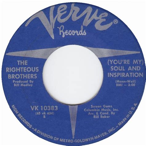 The Righteous Brothers Youre My Soul And Inspiration | 1966 all charts weekly top 40
