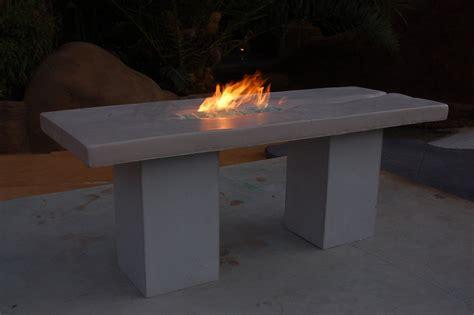 concrete patio table made custom cast concrete patio table by