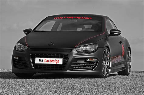 Mr Car Design Vw Scirocco Black Rocco Car Tuning