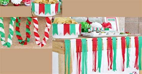 imagenes de cadenas de papel crepe todo para eventos fiesta mexicana