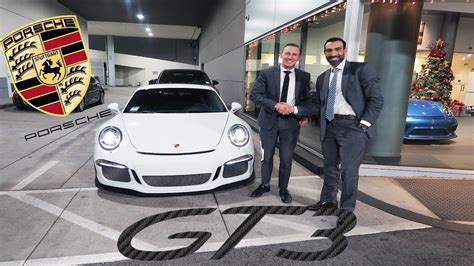 Buying A Porsche by Buying A Porsche Gt3 In A Suit Youtube