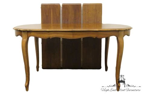 french provincial table ls high end used furniture thomasville tableau collection
