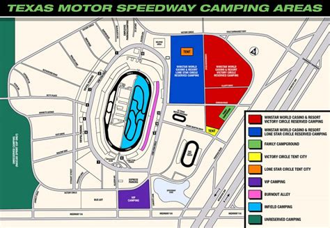 texas motor speedway infield cing map infield spot 223 texas tickets items for sale deal classified ads