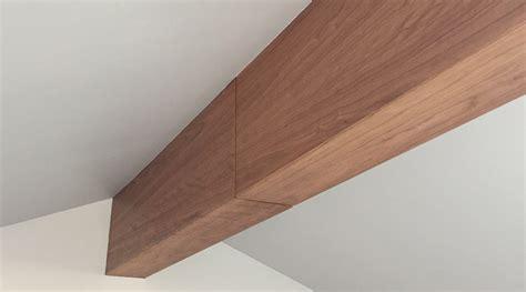 Master Bedroom Ceiling Ideas beam me up grain matching cherry veneer beam wrap