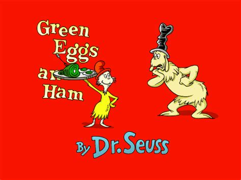 The Living Room Green Eggs And Ham Celebrating Dr Seuss