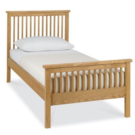 Single Oak Bed Frame Bentley Designs Atlanta Oak Single 90cm High Footend Bed Frame