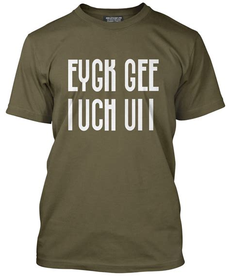 T Shirt F This eygk gee f k slogan folded cool