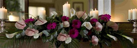 Table Top Flower Arrangements Wedding Flowers Top Table Wedding Flower Arrangements