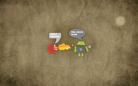 wallpaper android vs apple apple vs android wallpaper background wallpaper