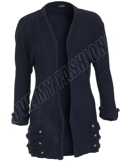 womens cardigans size 12 ebay new womens ladies knitted boyfriend cardigan 14 button