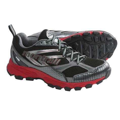 waterproof running shoes for montrail badrock outdry 174 trail running shoes waterproof