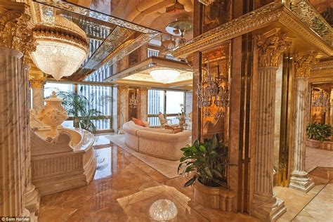 trump gold room take a tour of donald trump s luxurious private homes