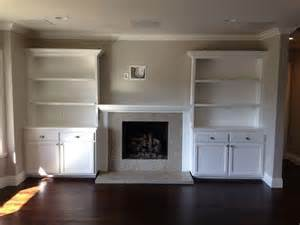 Built In Shelves Around Fireplace by Built In Shelves Around Fireplace Photos