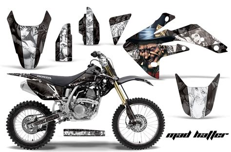 Decal Crf 150 003 honda graphic kit amr racing bike decal crf 150r decal mx parts 07 15 mad httr w ebay