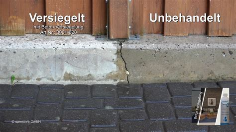 Beton Terrasse Versiegeln by Farblose Betonversiegelung Mit Tiefenwirkung