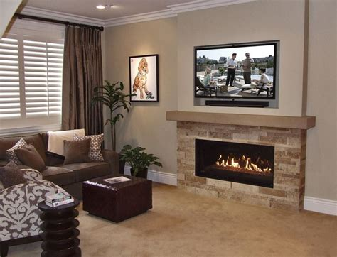 Above Fireplace Ideas by 1000 Ideas About Tv Above Fireplace On