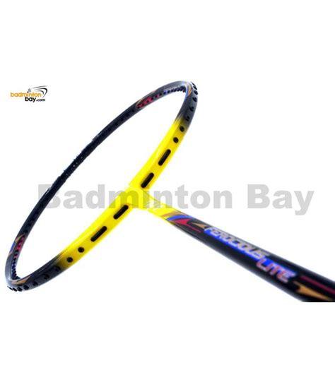 Raket Badminton Apacs Ferocious Lite Sg apacs ferocious lite yellow badminton racket 6u