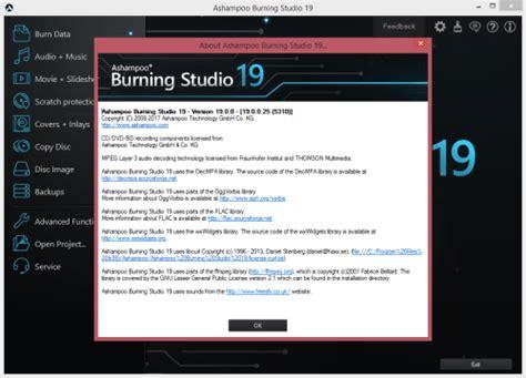 ashoo burning studio 12 license key ashoo burning studio 19 2018 keygen