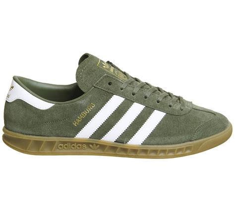 adidas hamburg trainers khaki white exclusive trainers shoes ebay