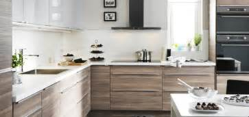 Ikea Kitchen Cabinet Colors Ikea Kitchen Sofielund Base Cabinets And Abstrakt High Gloss Wall Cabinets With Quartz