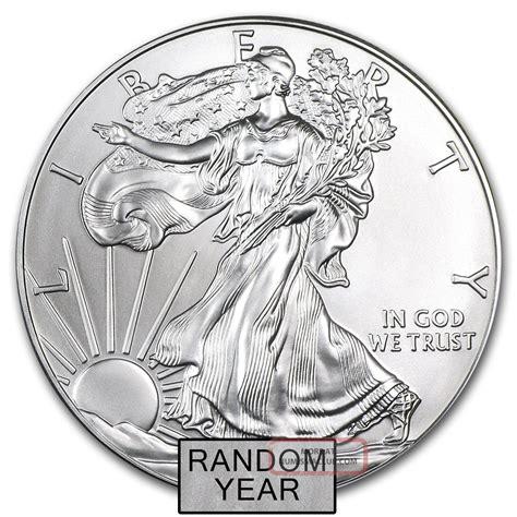 1 Oz Silver Coin Price - 1 oz silver american eagle random year price per coin
