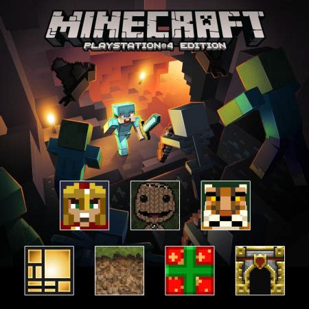 minecraft console ps3 minecraft ps4 playstation