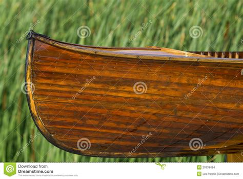 Handmade Canoe - cedar handmade canoe stock images image 20339494