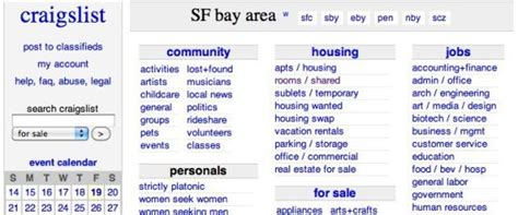 craigslist boats in ta bay area craigslist bay area work from home