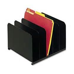 file desk organizer industries steel 5 compartment vertical